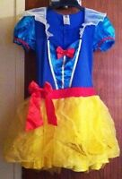 Snow White Costume Size 8-10 fits Tween or Petite Adult 30 FIRM