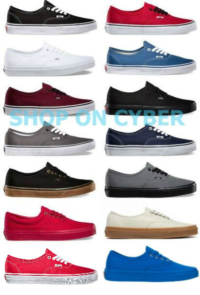 VANS AUTHENTIC CLASSIC SHOES Brand New All Colors All Sizes