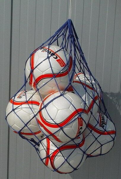 Ballnetz für 3, 6 oder 10 Bälle Fußbälle / Handbälle