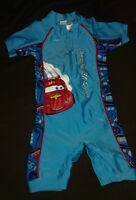 1 Piece Cars Swimsuit  Size 18-24 Months - NEVER WORN