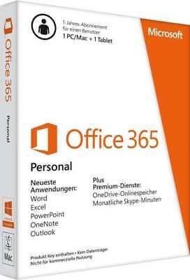 Microsoft Office 365 Personal Multilingual | 1 Gerät | 1 Jahresabonnement | Pcmac | Download 11