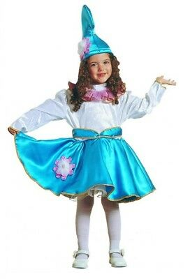 Carnival Halloween Costume kids Smurf girl dwarf 1-6 years Old MARK541 (1 Year Old Girl Halloween Costume)