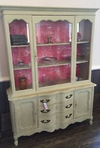 Beautiful Serpentine Hutch