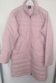 Adidas pink coat