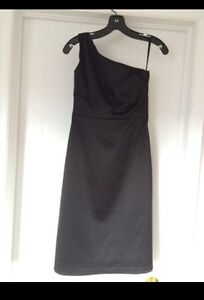 RW & Co one shoulder black dress - Size 00 Kitchener / Waterloo Kitchener Area image 1