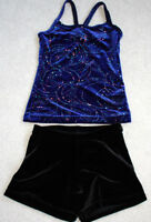 GIRL'S SIZE 4 - 6, 6x -7, and 8-10 GYMNASTIC / DANCE BODY SUITS