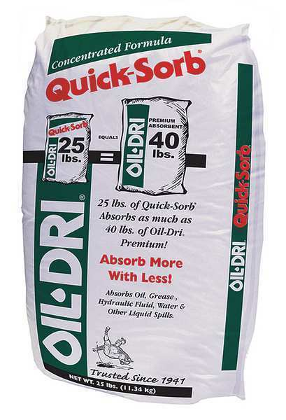 OIL-DRI I05025-G70 Maintenance Absorbent,25 lb.,Bag