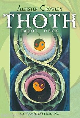 Aleister Crowley Thoth Large Tarot NEW Sealed 78 Cards Egyptian Myth Divination