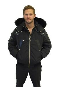 LIMITED EDITION MEN MOOSE KNUCKLES GOLD SERIES BOMBER XL