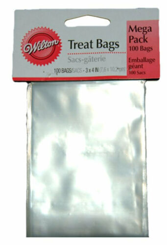 Wilton 100//Pack Clear Treat Bags Mega Pack