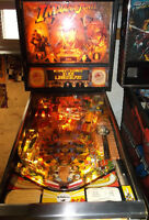 INDIANA JONES PINBALL MACHINE FOR TRADE/SALE by WILLIAMS