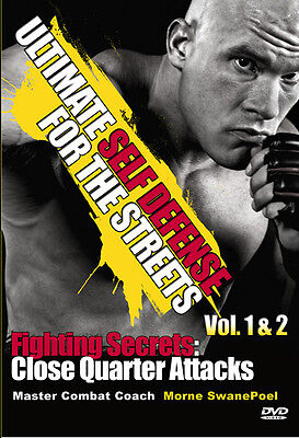 Self Defense MMA Martial Arts Fighting Tips + Techniques DVD UFC Karate Kung Fu