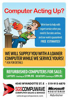 LAPTOP/DESKTOP REPAIR !!!NO GAMES NO GIMMICKS!!!  @ SGSCOMPUWAVE