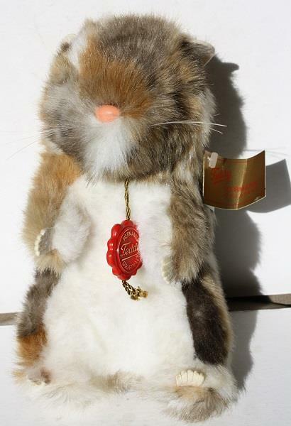 Ground Hog Prairie Dog Beaver Hermann Originals Stuffed Animal Made in Germany