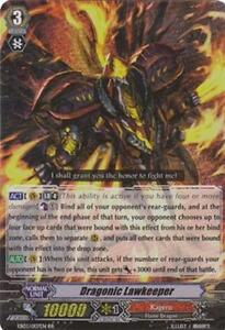 Cardfight!! Vanguard 1x EB03 DRAGONIC LAWKEEPER RR Kagero NM