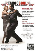 Cours Tango Argentin