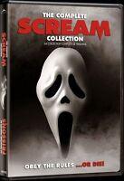 Scream - Frissons Collection Complète DVD video film Wes Craven