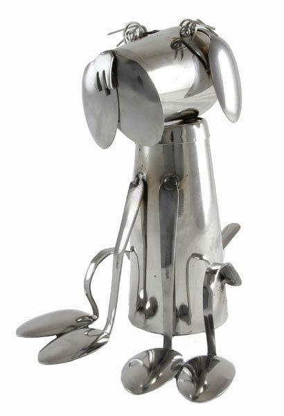 Steampunk spoon dog