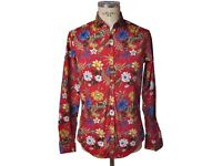 Red Aglini Shirt Size 40
