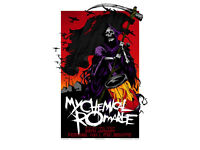 My Chemical Romance Another Day Dawn by Rhys Cooper (only 500 made) Music poster
