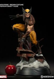 Sideshow Brown Costume Wolverine