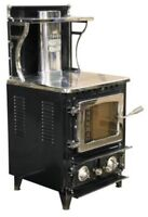 Flameview Wood Stove Heater Certified New! Starts @ 1,640.00 London Ontario Preview