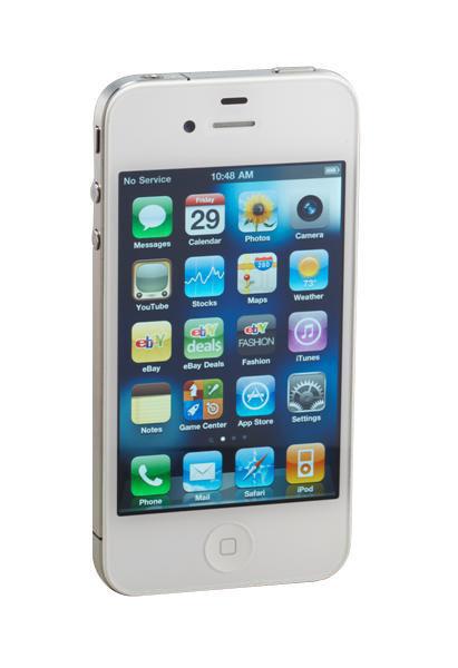 Apple iPhone 4 - 16GB - White (Unlocked) A1332 (GSM) (CA)