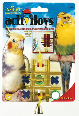 JW Pet Company Activitoy Tic Tac Toe Small Bird Toy Colors Vary (Free Shipping