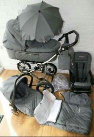 Baby style prestige pram set £250 ono