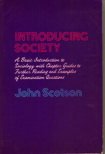 Introducing Society - John Scotson West Island Greater Montréal image 1