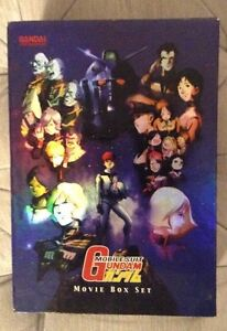 Original Gundam Movie Box Set anime dvd