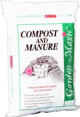 Garden Magic 5240 Compost and Manure, 40-Pound