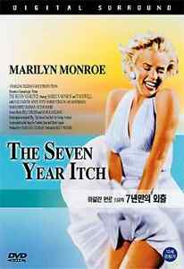 The Seven Year Itch (1955) New Sealed DVD Marilyn Monroe