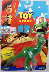 REX - 1995 Disney Toy Story Collectible Figure by Thinkway. NEW