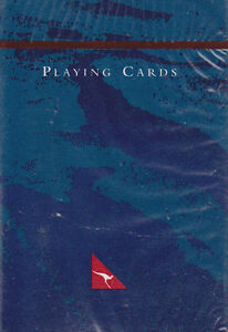 QANTAS AIRLINES: DECK OF PLAYING CARDS - NEW & SEALED