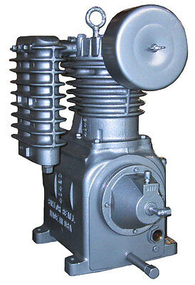 Model 705 Saylor Beall Splash Lubricated Two Stage Air Compressor Bare Pump