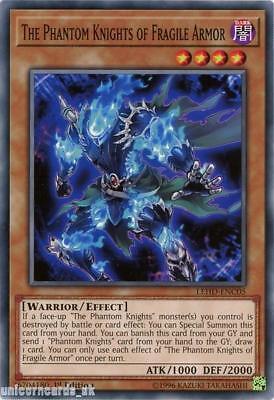 LEHD-ENC05 The Phantom Knights of Fragile Armor 1st Edition Mint YuGiOh Card