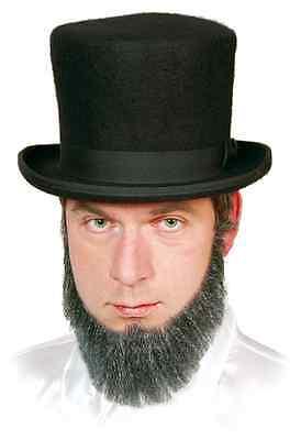 Lincoln Echthaarbart NEU - Karneval Fasching Bart Verkleidung