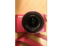 NIKON 1 J2 DSLR with 16 GB memory card