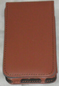 Premium PU Leather Case for iTouch 4 4G Coffee