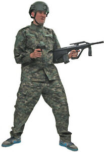 US MARINE DIGITAL STYLE COMBAT PANTS AND SHIRTS - RUGGED CLOTHING FOR AIRSOFT & PAINTBALL PLAYERS!