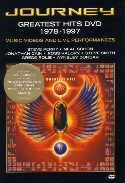"JOURNEY ""GREATEST HITS 1978-1997"" DVD NEU"