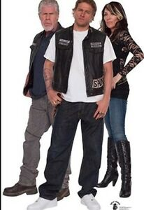 Sons of Anarchy life size cut outs