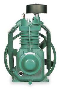 Air Compressor Pump, Number of Stages 2, Splash Lubricated, 5, 7-1/2 HP