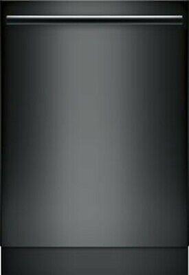 "Bosch SHXM78Z56N 800 Series 2"" Integrated Dishwasher 3rd Rack 42 dBA XXL  Black"