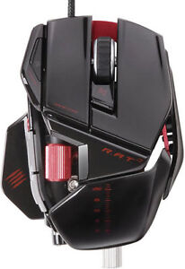 Mad Catz R.A.T.7 Gaming Mouse Gloss black/red