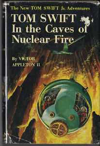 TOM SWIFT JR – Tom Swift & In the Caves of Nuclear Fire DJ NR MT London Ontario image 4
