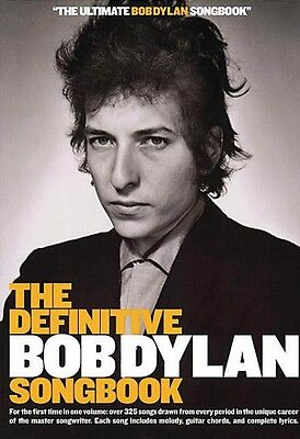 The Definitive Bob Dylan Songbook Small Format Sheet Music Book NEW 014008559 ()