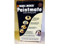 Black and decker paintmate cordless painting system