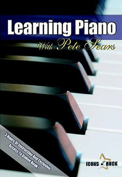 Learn Beginner Piano Keyboard Lessons NEW DVD - 3 HOURS LONG -  FREE USA Ship!